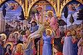 Beato angelico, pala strozzi della deposizione, con cuspidi e predella di lorenzo monaco, 02.JPG
