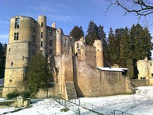 Beaufort-Spontin - Image: Beaufort castle