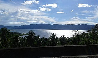Kitcharao, Agusan del Norte - Lake Mainit, located partly within Kitcharao