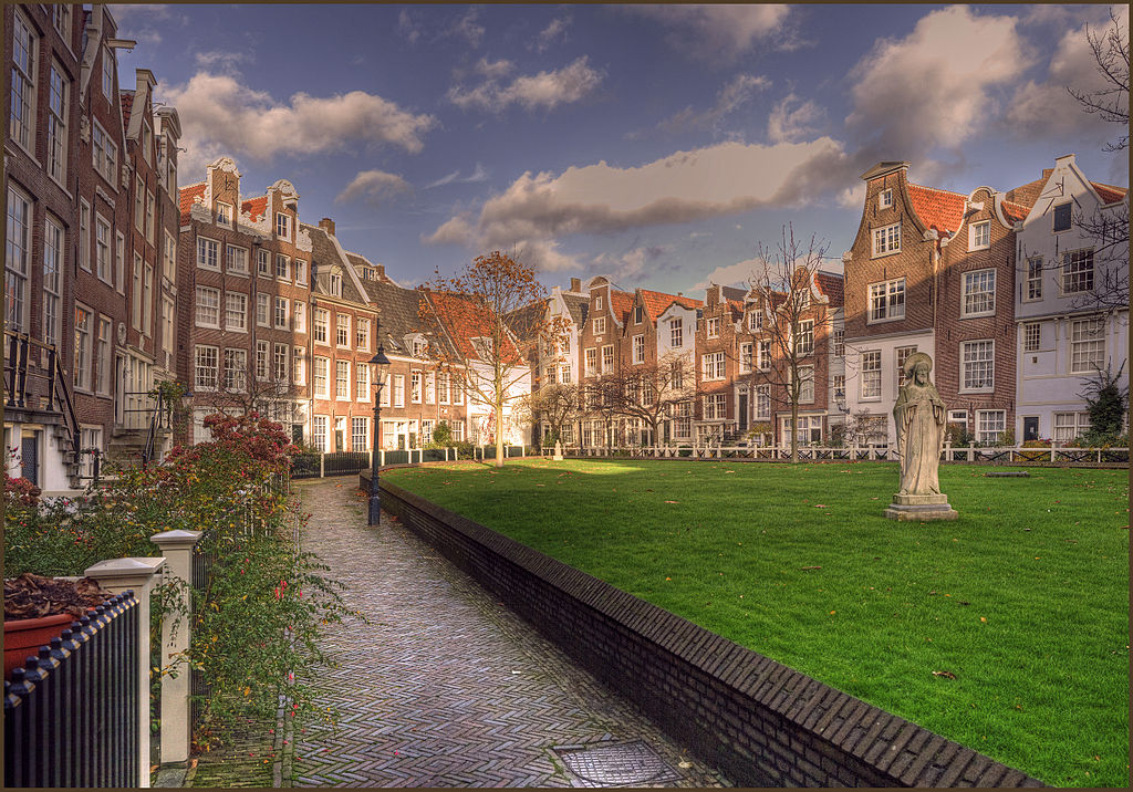 Begijnhof ou Beguinage à Amsterdam - Photo de Bert K
