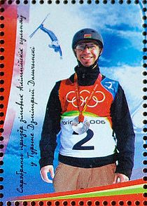 Belarus souvenir sheet no. 52 - Belarus Sportsmen at the XX Olympic Winter Games in Turin 2.jpg