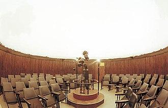 Planetarium - Inside a planetarium projection hall. (Belgrade Planetarium, Serbia)
