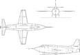 Image: Bell X-1E line drawing.png (row: 29 column: 9 )
