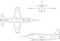 Bell X-1E line drawing.png