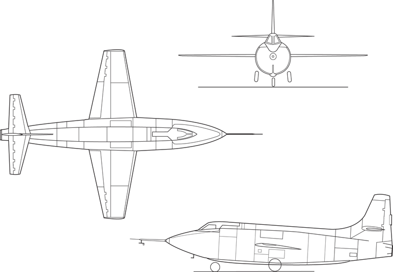 file bell x-1e line drawing png