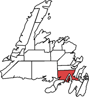 Bellevue (electoral district) electoral district in Newfoundland and Labrador, Canada