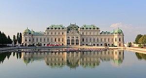Belvedere, Vienna - Upper Belvedere