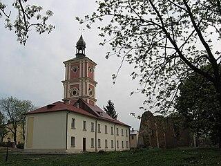Belz City in Lviv Oblast, Ukraine