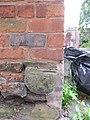Bench mark behind 104 Watergate Street - geograph.org.uk - 1372377.jpg