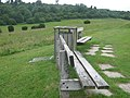 Benches in Lullingstone Golf Course - geograph.org.uk - 1355340.jpg