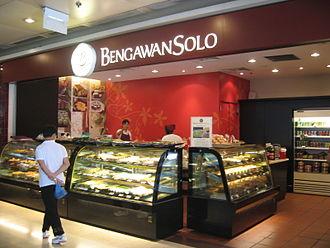 Bengawan Solo (company) - A Bengawan Solo store at The Arcade