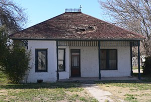 Greenlee County, Arizona - Image: Benjamin F. Billingsley house from SE 1
