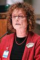 Bente Dahl talar vid Nordiska Radets session i Helsingfors 2008-10-27.jpg
