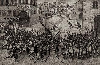 Concino Concini - Contemporary depiction of the assassination of Concini