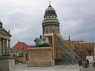 Around the World in 80 Days (2004 film) - Film set at Berlin's Gendarmenmarkt in April 2003. The building doubles as a background building outside London's Royal Academy of Science.