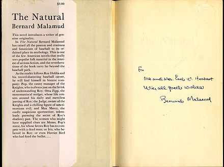 the role of symbolism in bernard malamuds novel the natural History as myth in bernard malamud's the natural in the novel roy plays the role of the knight of deliverance the novels of bernard malamud (the hague.