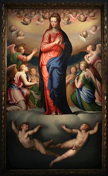 File:Bernardino campi, vergine assunta, 1568, 01.jpg
