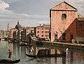 Bernardo bellotto, venezia, imbocco del canal grande davanti santa croce, 1740-50 ca. 04.jpg
