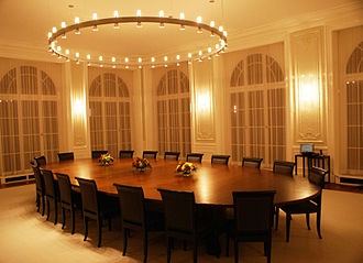 Federal Department of Finance - A meeting room.