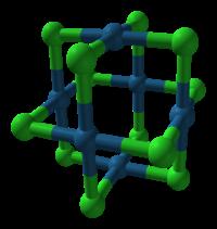 Struktur von β-PtCl2