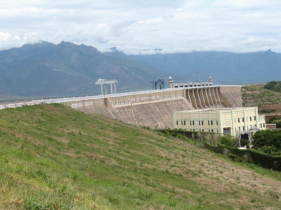 Bhavani-sagar-Dam-and-Reservoir