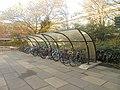 Bicycle rack, University of Leeds (14th November 2018).jpg