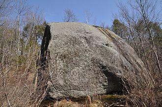 Agassiz Rock - Big Agassiz Rock in 2013
