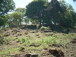 Bigbury Camp hillfort in Kent
