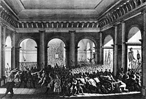 Demonstration of 20 June 1792 - Image: Bild Tuileriensturm 1792