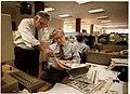 Bill German and Jack Breibart in SF Chronicle newsroom.jpg
