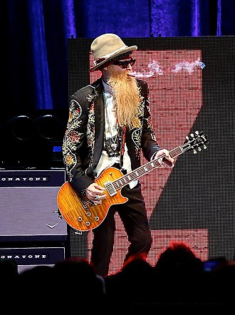 Billy Gibbons - Billy Gibbons at The Alamodome in San Antonio, Texas 12/7/13, private function