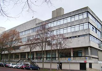 Cardiff University School of Medicine - The Sir Martin Evans building, which houses pre-clinical teaching at the School of Medicine