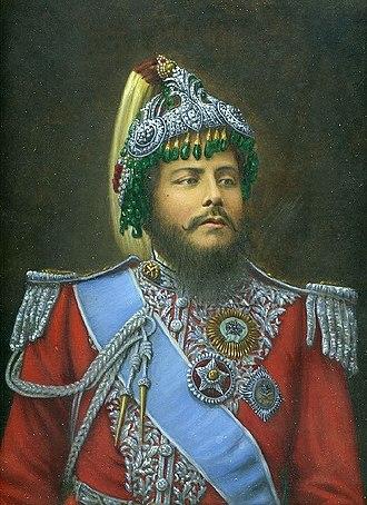 Chhetri - Bir Shamsher JBR, a Rana Kshetri Maharaja, and Prime Minister and C-in-C of Nepal