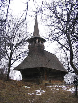 Wooden Church in Doba Mică