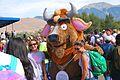 Bison Mascot and Friends (15119372056).jpg