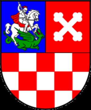 Bjelovar-Bilogora County - Image: Bjelovar Bilogora County coat of arms