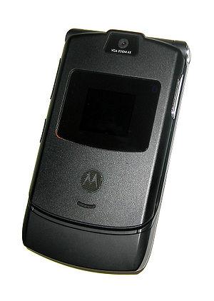 Motorola Razr - Black RAZR V3