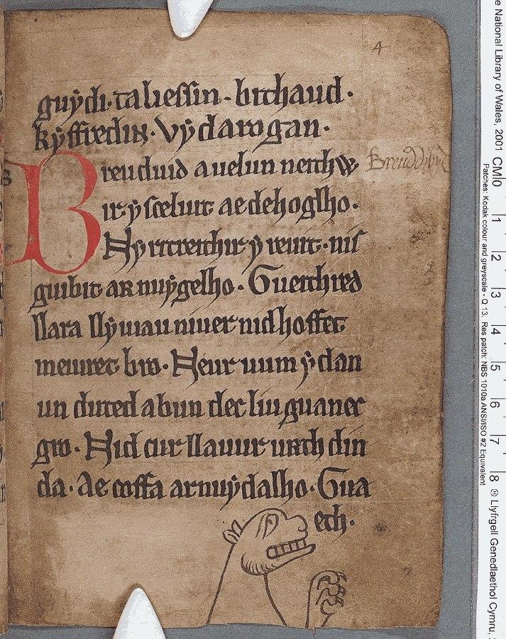 Black Book of Carmarthen (f.4.r)