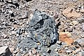 Black smoker rocks (sulfidic wad) (Helen Iron-Formation, Neoarchean, 2696-2749 Ma; Sir James Pit, Eleanor Iron Range, Ontario, Canada) 3 (48069920058).jpg