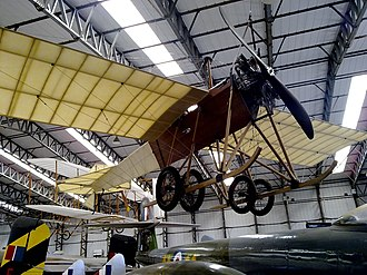 Blackburn Mercury - Replica at the Yorkshire Air Museum