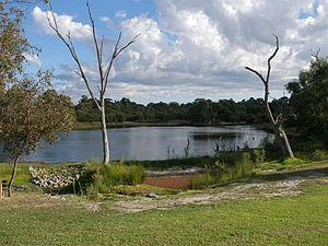 Mount Pleasant, Western Australia - Image: Blue Gum Lake, Mount Pleasant, Western Australia, April 2006