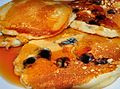 Blueberry and plain pancakes.jpg