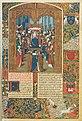 BnF Fr. 2596 Chroniques de Charles VI et Charles VII Fol. 5 - Couronnement de Charles VI.jpg