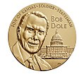 Bob Dole Congressional Gold Medal (front).jpg