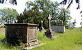 Bobbingworth, Essex, England - St Germain's Church exteriorgraves at the southeast 02.JPG
