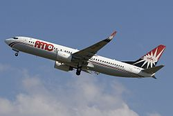 Boeing 737-800 der AMC Airlines