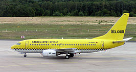 Boeing 737 hlx D-AGER