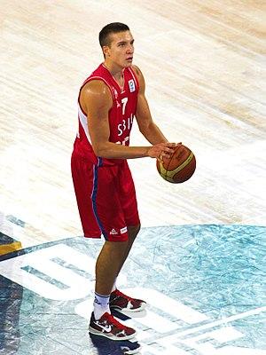 Bogdan Bogdanović (basketball) - Bogdanović in 2013