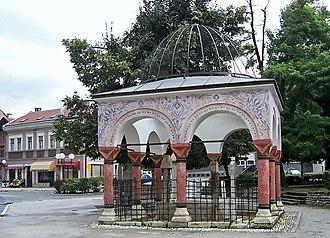 Travnik - Vizier's grave (turbe) in Travnik.