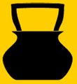Bogrács (heraldika) fr -- chaudière.PNG